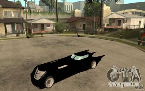 Batmobile Tas v 1.5 pour GTA San Andreas