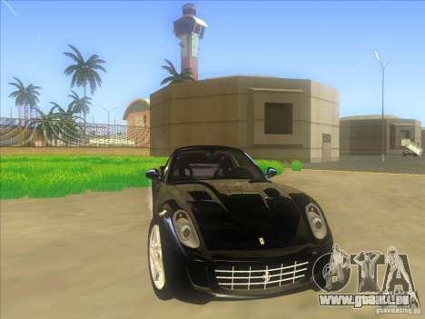 Ferrari 599 GTB Fiorano für GTA San Andreas Seitenansicht