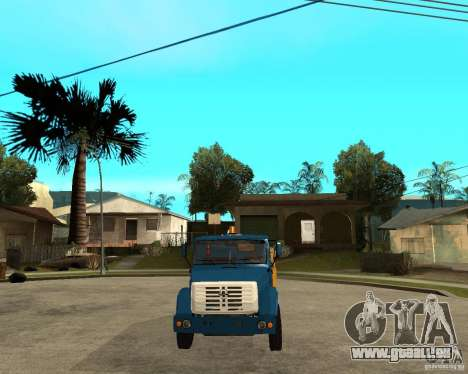 ZIL-433362 Extra Pack 2 für GTA San Andreas obere Ansicht