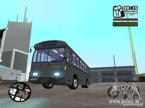 FBW Hess 91U pour GTA San Andreas