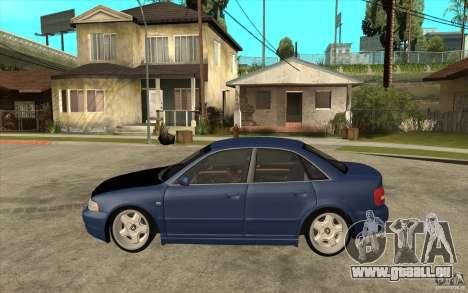 Audi A4 pour GTA San Andreas laissé vue