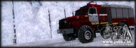 Ural 43206 AC 3.0-40 pour GTA San Andreas