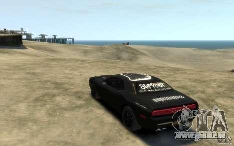 Dodge Challenger Concept Slipknot Edition für GTA 4 hinten links Ansicht