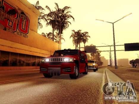 ENBSeries v1 pour GTA San Andreas troisième écran