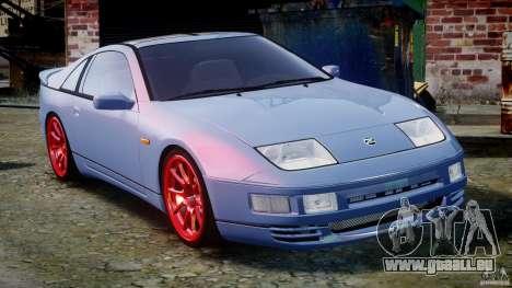 Nissan 300 ZX 1994 v1.0 pour GTA 4 est une vue de dessous