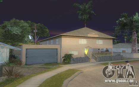 Quatre maisons neuves Grove Street pour GTA San Andreas troisième écran
