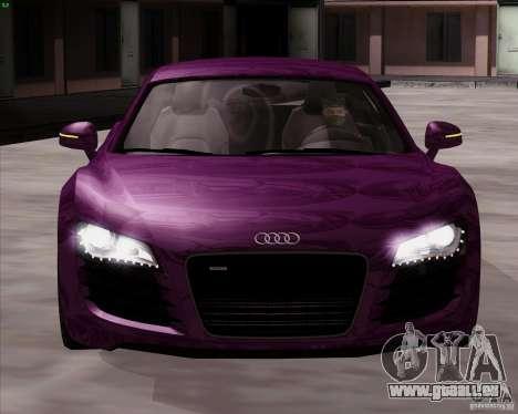 Audi R8 Production für GTA San Andreas rechten Ansicht