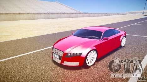Audi Nuvollari Quattro pour GTA 4 est une gauche