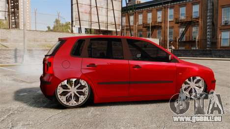 Volkswagen Polo Edit pour GTA 4 est une gauche