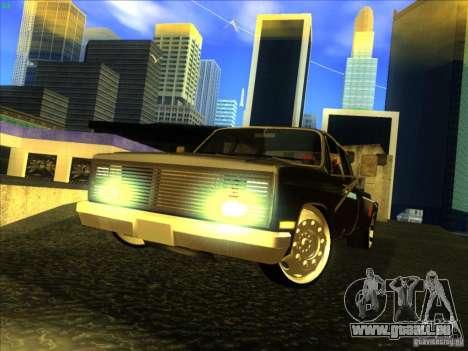 Chevrolet Silverado Towtruck für GTA San Andreas linke Ansicht