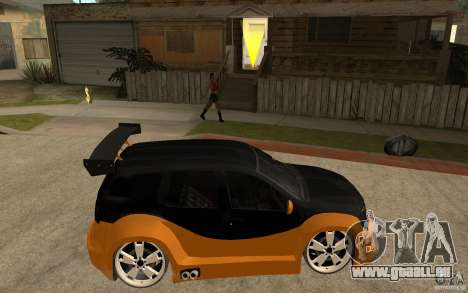 Dacia Duster Tuning v1 pour GTA San Andreas vue de droite