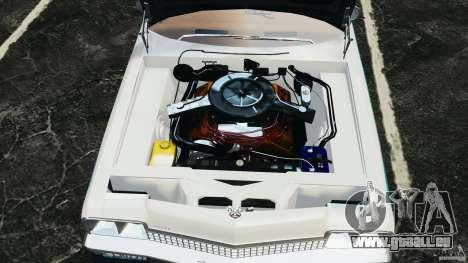 Dodge Monaco 1974 Police v1.0 [ELS] für GTA 4 Rückansicht