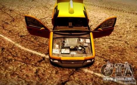 Ford Crown Victoria TAXI 2003 für GTA San Andreas Rückansicht