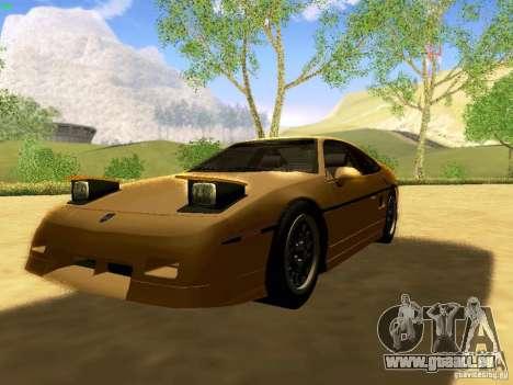 Pontiac Fiero V8 pour GTA San Andreas