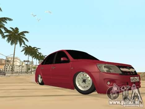 Lada Granta für GTA San Andreas obere Ansicht