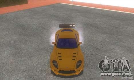Aston Martin DB9 MW für GTA San Andreas Rückansicht