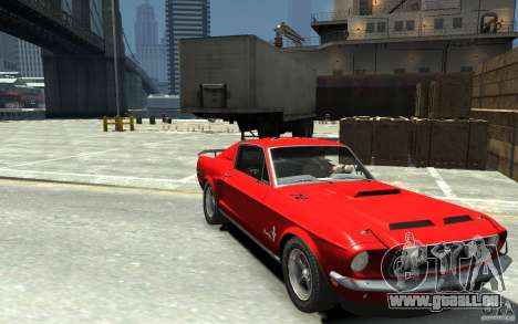 Ford Mustang Fastback 302did Cruise O Matic pour GTA 4 Vue arrière