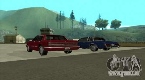 Century Nebula pour GTA San Andreas laissé vue