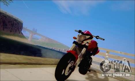 Honda CB600F Hornet 2012 pour GTA San Andreas