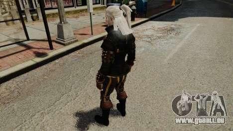 Geralt de Rivia v1 pour GTA 4 cinquième écran