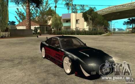 Nissan 180SX - Koguchi Power pour GTA San Andreas vue arrière