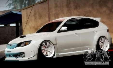 Subaru Impreza WRX Camber pour GTA San Andreas moteur