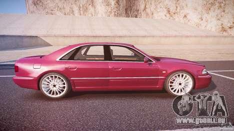 Audi A8 6.0 W12 Quattro (D2) 2002 pour GTA 4 est un côté