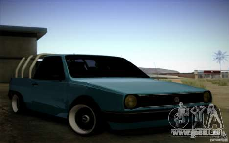 Volkswagen Polo Pickup pour GTA San Andreas laissé vue