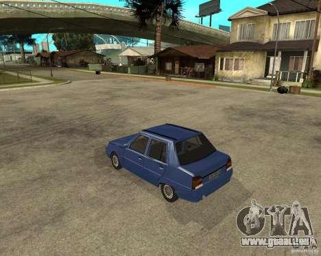ZAZ 1103 Slavuta pour GTA San Andreas laissé vue