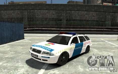 Skoda Octavia Kombi 2005 Hungarian Police für GTA 4