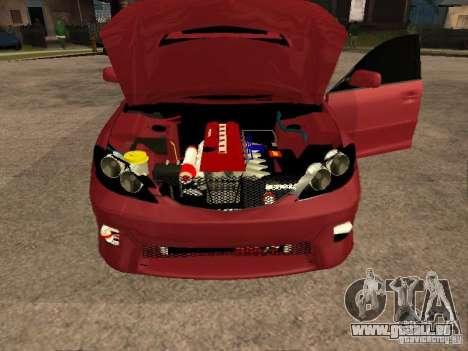 Toyota Camry 2005 TRD pour GTA San Andreas vue arrière