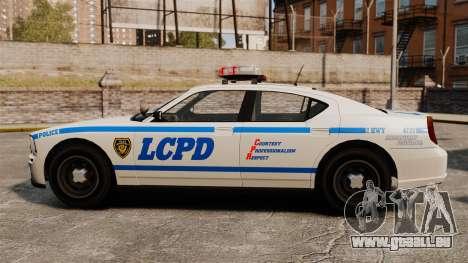 Polizei Buffalo ELS für GTA 4 linke Ansicht