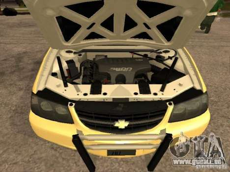 Chevrolet Impala Police 2003 für GTA San Andreas rechten Ansicht
