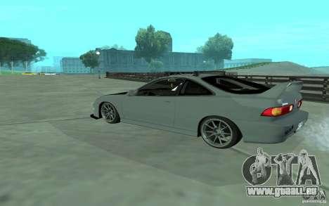 Acura Integra Type-R für GTA San Andreas zurück linke Ansicht