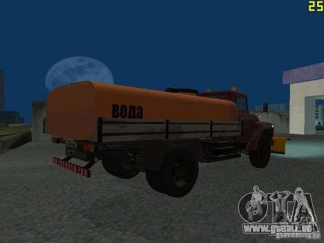 Ko-829 sur beta ZIL-130-châssis de camion pour GTA San Andreas vue arrière