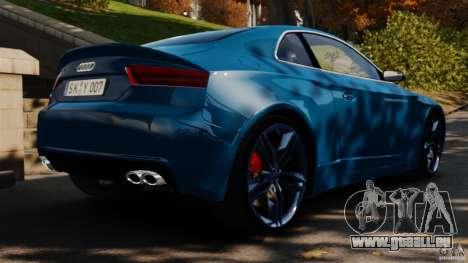 Audi S5 Conceptcar für GTA 4 hinten links Ansicht