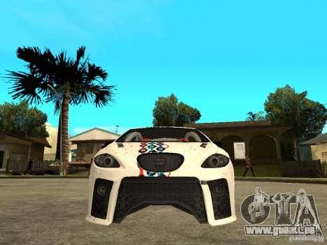 Seat Leon Cupra Bound Dynamic pour GTA San Andreas vue de droite
