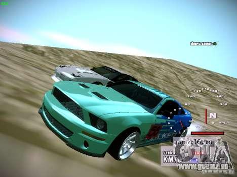 Ford Shelby GT500 Falken Tire Justin Pawlak 2012 für GTA San Andreas