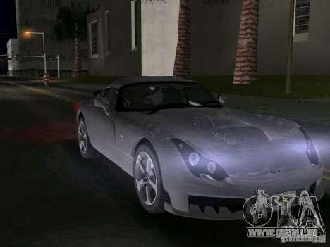 TVR Sagaris für GTA Vice City rechten Ansicht