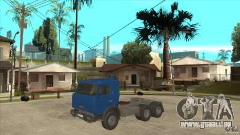 KAMAZ 54115 für GTA San Andreas Innenansicht