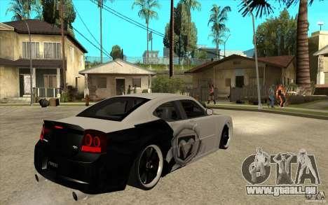 Dodge Charger SRT8 Tuning pour GTA San Andreas vue de droite