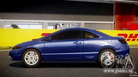 Honda Civic Si Coupe 2006 v1.0 pour GTA 4 est une gauche