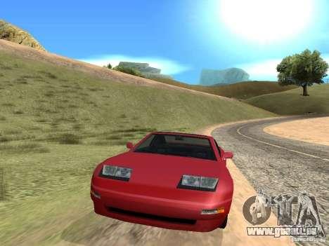 Voyage sur la route pour GTA San Andreas deuxième écran