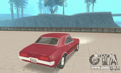 Pontiac Firebird 1968 für GTA San Andreas linke Ansicht