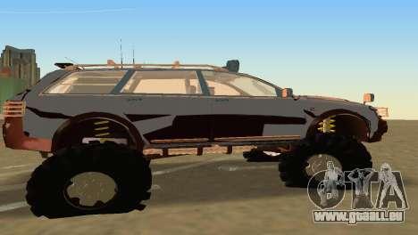Audi Allroad Offroader pour GTA Vice City sur la vue arrière gauche