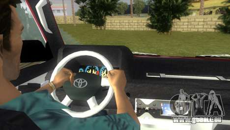 Toyota Town Ace-Tuning für GTA Vice City zurück linke Ansicht