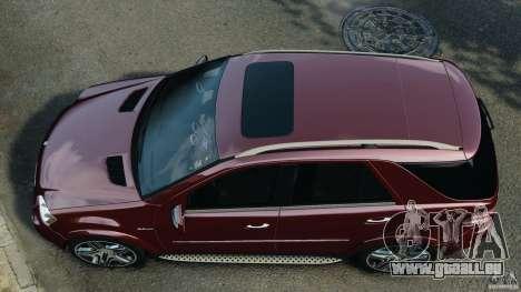 Mercedes-Benz ML63 (AMG) 2009 pour GTA 4 est un droit