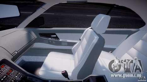 BMW 850i E31 1989-1994 pour GTA 4 Vue arrière