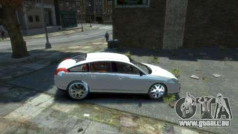Citroen C6 für GTA 4 rechte Ansicht
