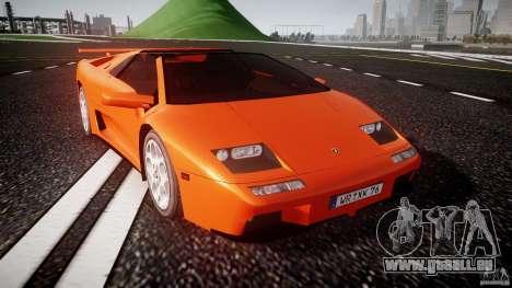 Lamborghini Diablo 6.0 VT pour GTA 4 Vue arrière